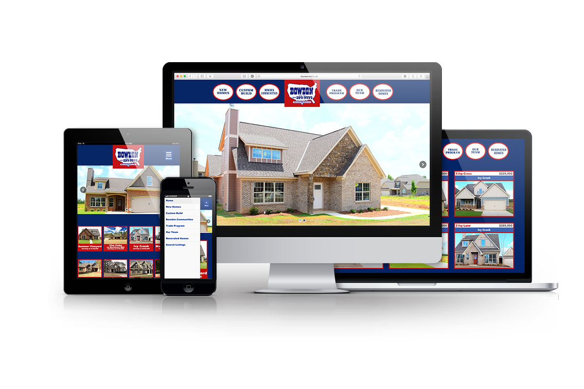 Bowden Realty Custom WordPress Website Design Phenix City Alabama