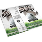 Big Sky Bravery Poster Design in Bozeman MT