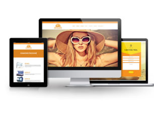 WordPress Web Design for New Life Tanning Centers in Columbus, GA