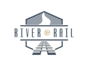 River Rail Logo Design Columbus Ga
