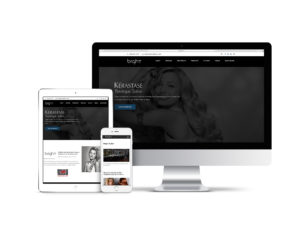 Bright Salon Web Design Project in Columbus, Georgia