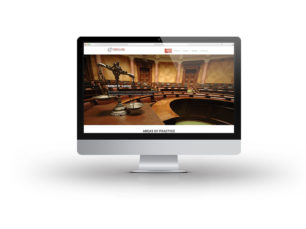 The Lomax Firm Website Design in Columbus Georgia