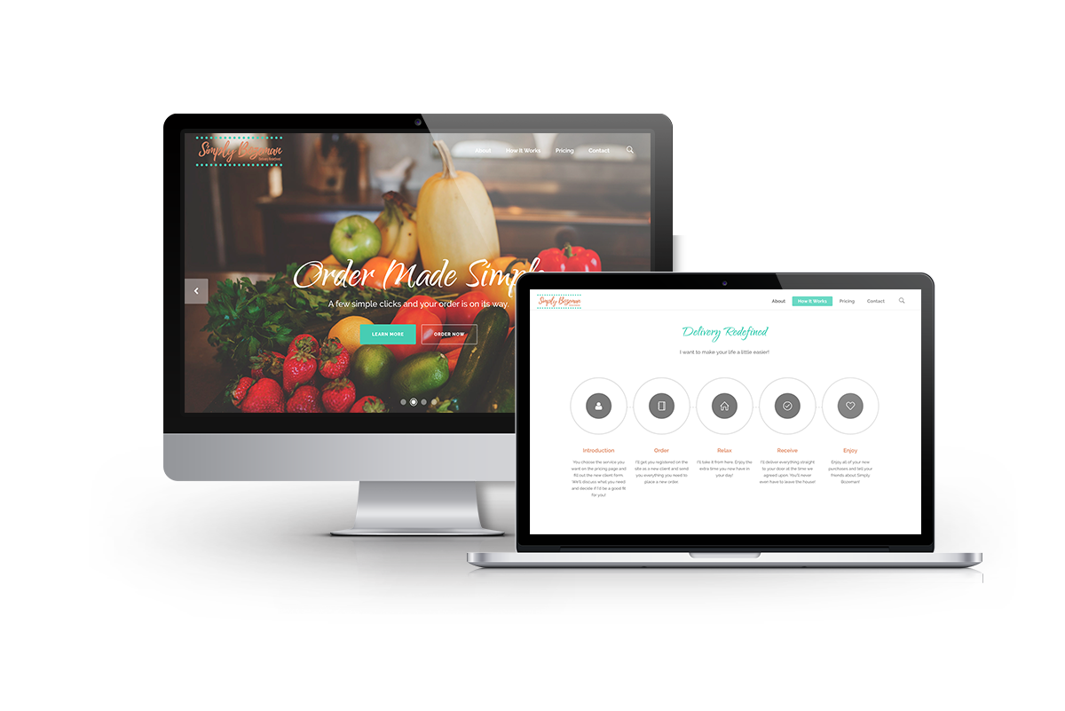 WordPress Website Web Design for Simply Bozeman of Bozeman, MT