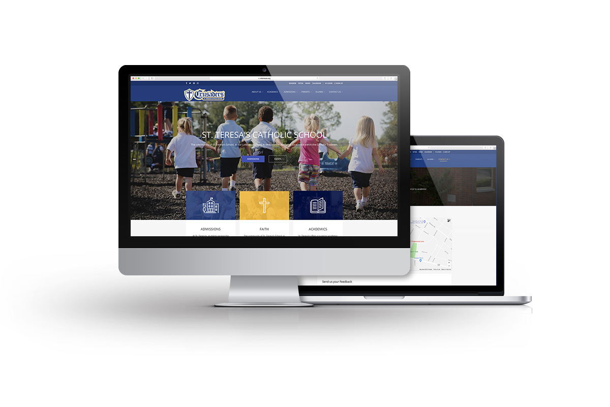 St Teresa's Catholic School Web Design Project