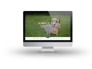 M & D Images Website Mockup