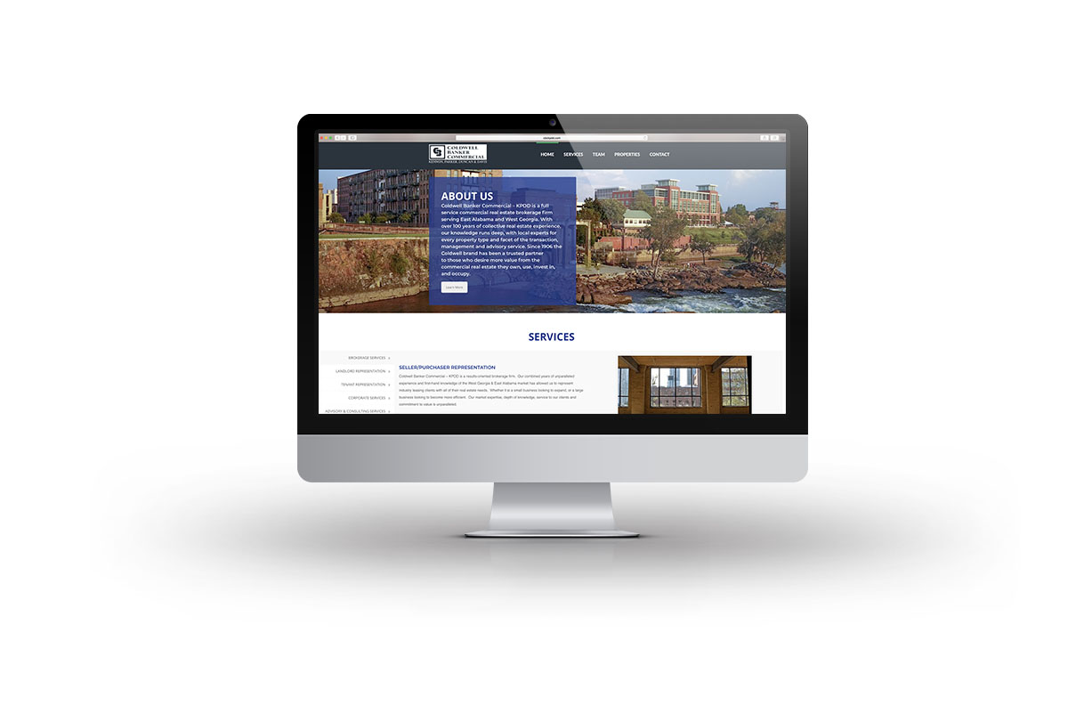 coldwell commercial mobile website design Columbus ga