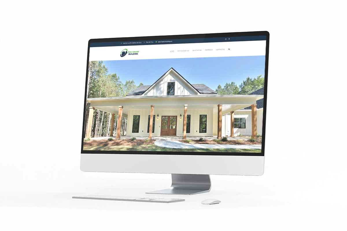 Web Design for Custom Home Builder